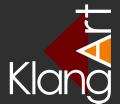 KlangArt Logo neg quad