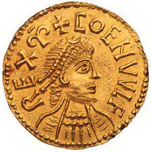 Ancient Cold Coin