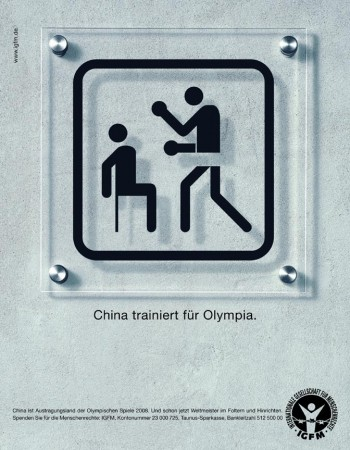 China trains for Olympia