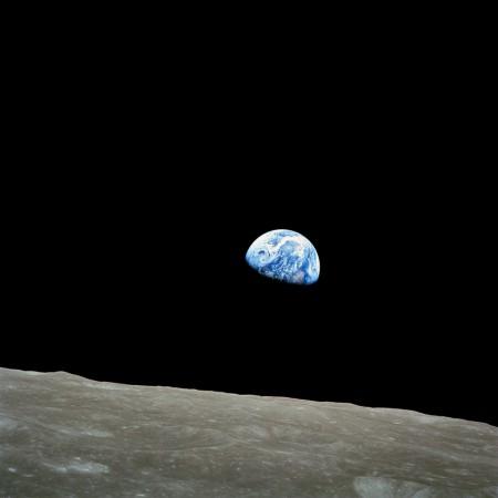 Earthrise by Apollo 8 (NASA)
