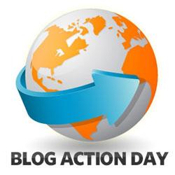 Blog Action Day Logo