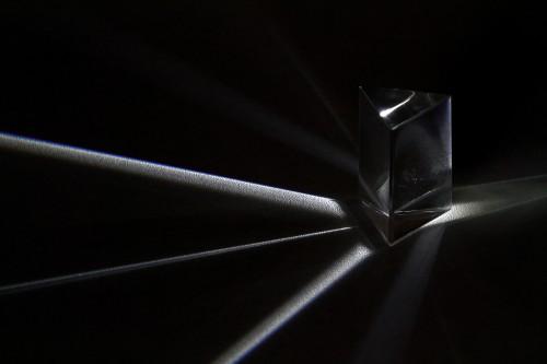 Prisma teilt Licht