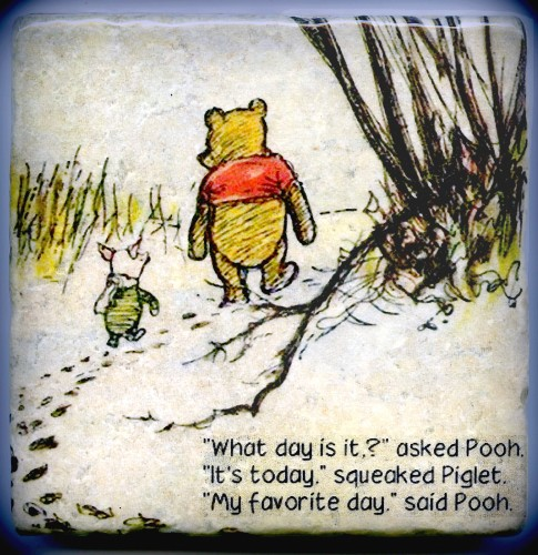 Winnie Pooh - Today is the favorite day