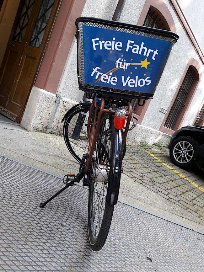 Freie Fahrt für freie Velos